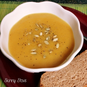 Roasted Butternut Squash Soup 1
